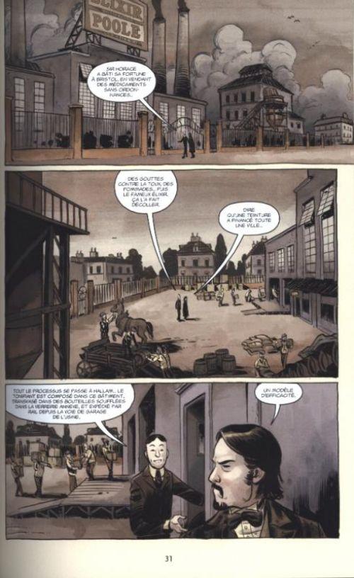 Witchfinder T3 : Les mystères d'Unland (0), comics chez Delcourt de McHugh, Newman, Mignola, Stenbeck, Crook, Stewart