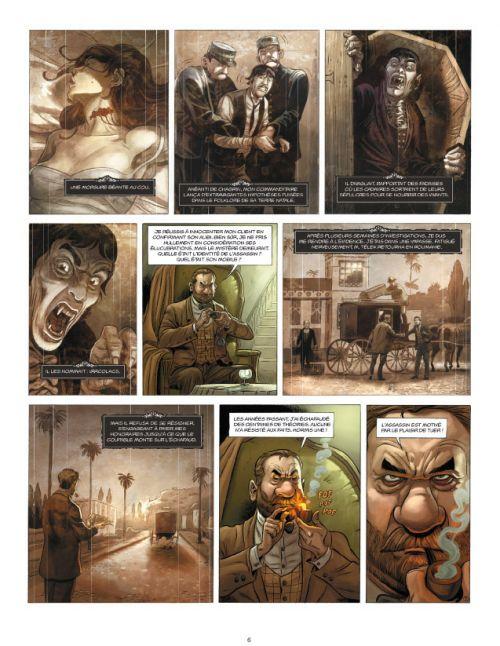 Aspic, détectives de l'étrange – cycle 2, T4 : Vaudeville chez les Vampires (0), bd chez Soleil de Gloris, Lamontagne, Aureyre