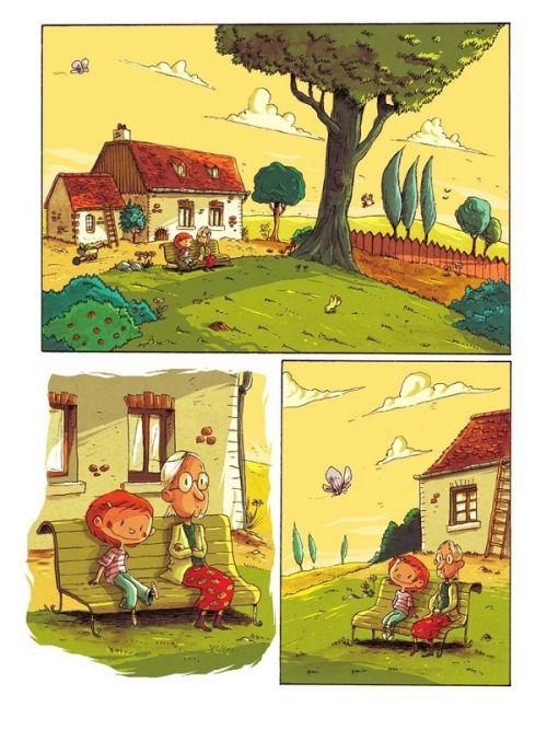 Dessus dessous, bd chez Editions de la Gouttière de Cuveele, Dawid