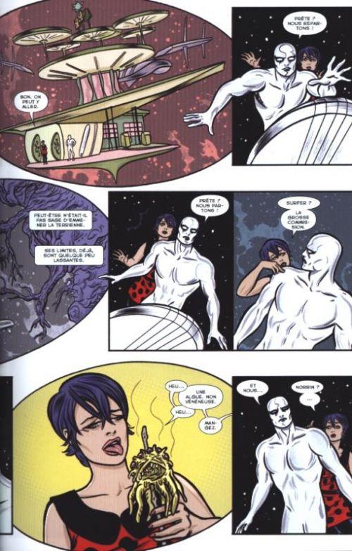 Silver Surfer (vol.7) T2 : Le refuge (0), comics chez Panini Comics de Slott, Allred, Allred
