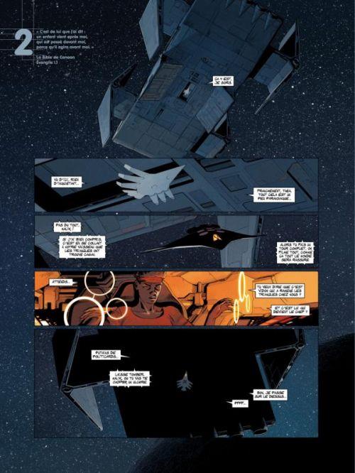 Universal War Two T3 : L'Exode (0), bd chez Casterman de Bajram