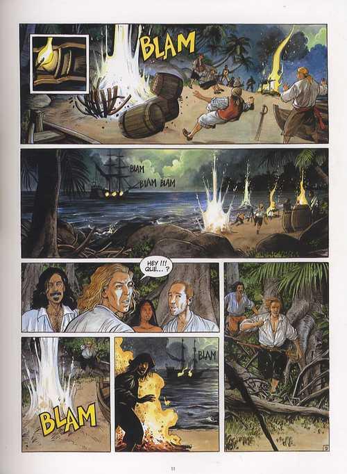 Pirates T2 : Bonne espérance (0), bd chez Casterman de Bonifay, Terpant