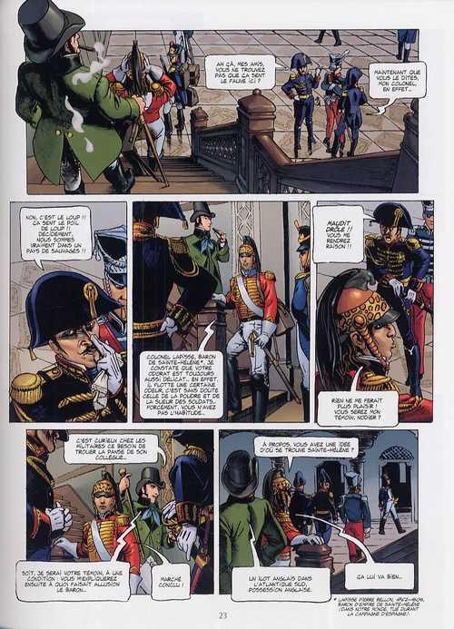 Empire – cycle 1, T1 : Le Général fantôme (0), bd chez Delcourt de Pécau, Kordey, Chuckry