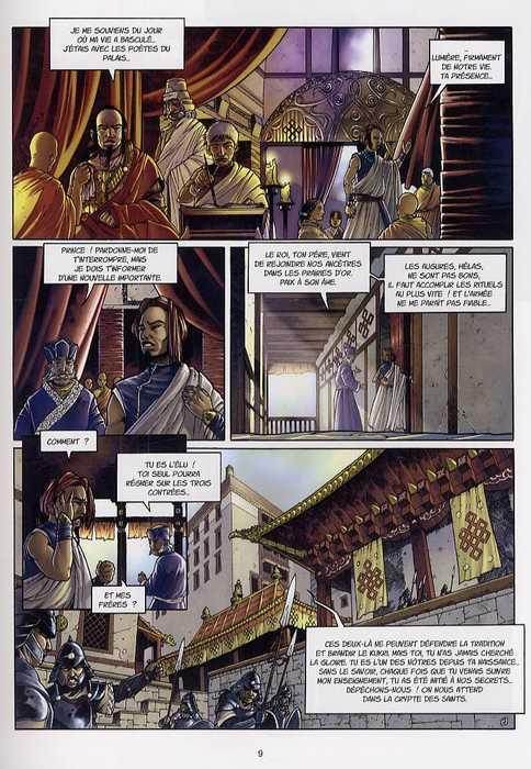 Tengiz T1 : La mort du père (0), bd chez Emmanuel Proust Editions de Tarek, Morinière