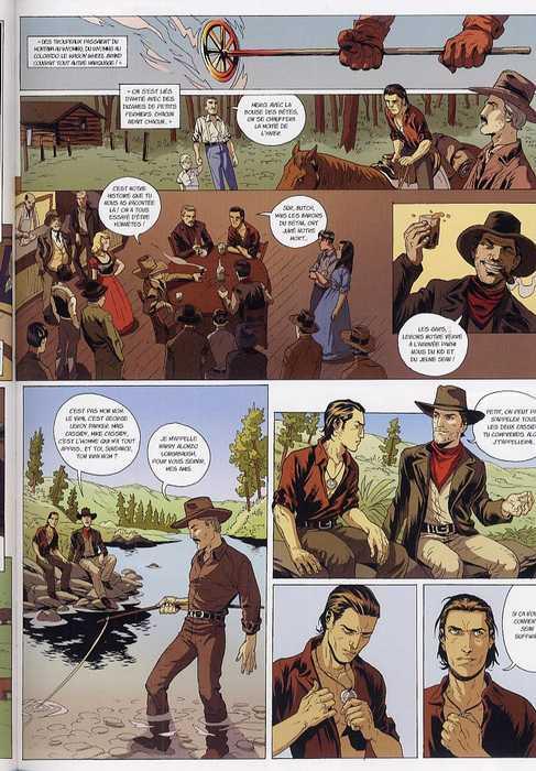 La légende de Cassidy T2 : Le syndicat des pilleurs de train (0), bd chez Emmanuel Proust Editions de Martin, Hanuka, Kness