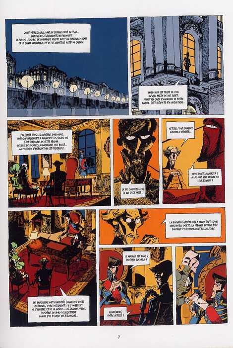 Le tsar fou T2 : Un derviche peut en cacher un autre (0), bd chez Emmanuel Proust Editions de Tarek, Chouin