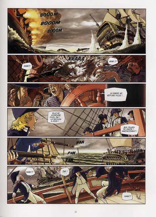 H.M.S. - His Majesty's Ship T2 : Capturez la Danaë ! (0), bd chez Casterman de Seiter, Roussel