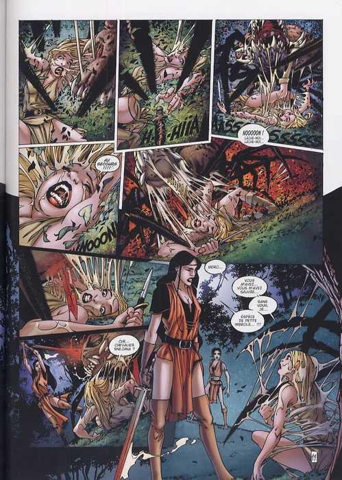 La geste des Chevaliers Dragons T5 : Les jardins du palais (0), bd chez Soleil de Ange, Paty, Paitreau