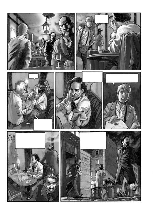 Baudelaire ou le roman rêvé d'E.A.Poe, bd chez Mosquito de Tarek, Morinière