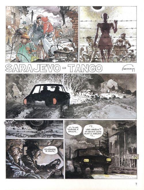 Sarajevo-Tango, bd chez Dupuis de Hermann