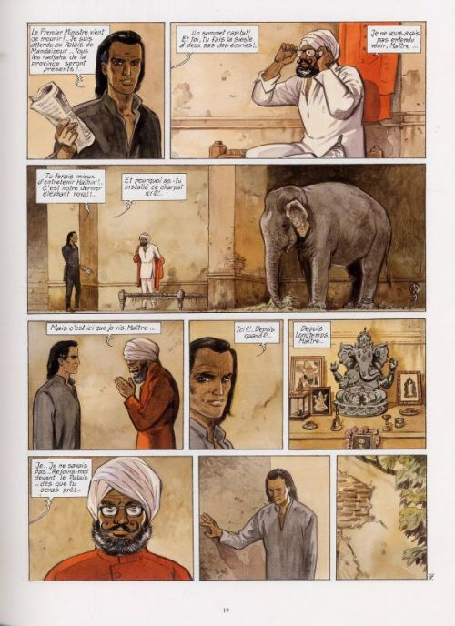 India Dreams – cycle 1, T3 : À l'ombre des bougainvillées (0), bd chez Casterman de Charles, Charles