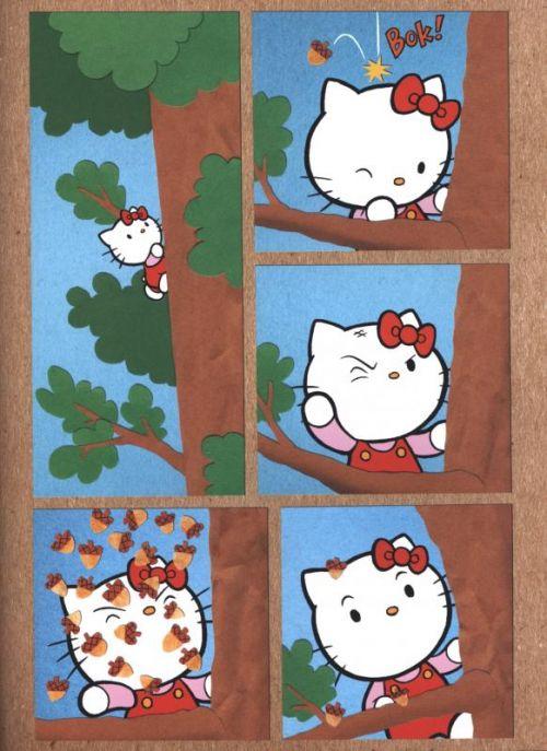 Hello Kitty T3 : Surprise ! (0), manga chez Kazé manga de Molongo, McGinty, Neislotova, Chabot