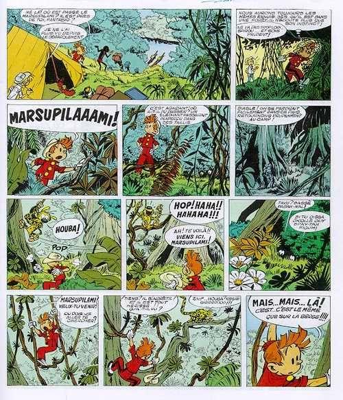 Spirou et Fantasio T24 : Tembo Tabou (0), bd chez Dupuis de Greg, Roba, Franquin