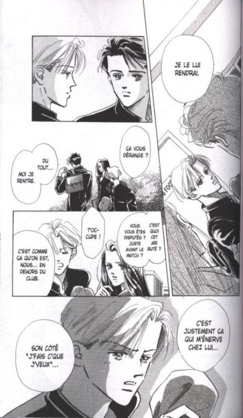 Marine blue T2, manga chez Delcourt de Yazawa