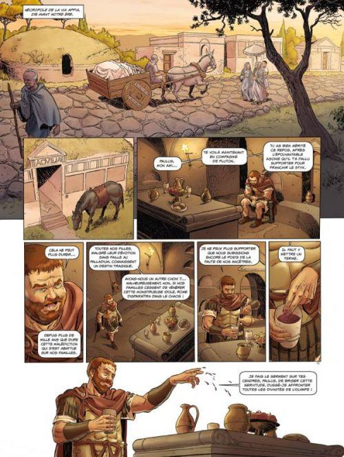 Roma T2 : Vaincre ou mourir (0), bd chez Glénat de Chaillet, Convard, Adam, Boisserie, Erbetta