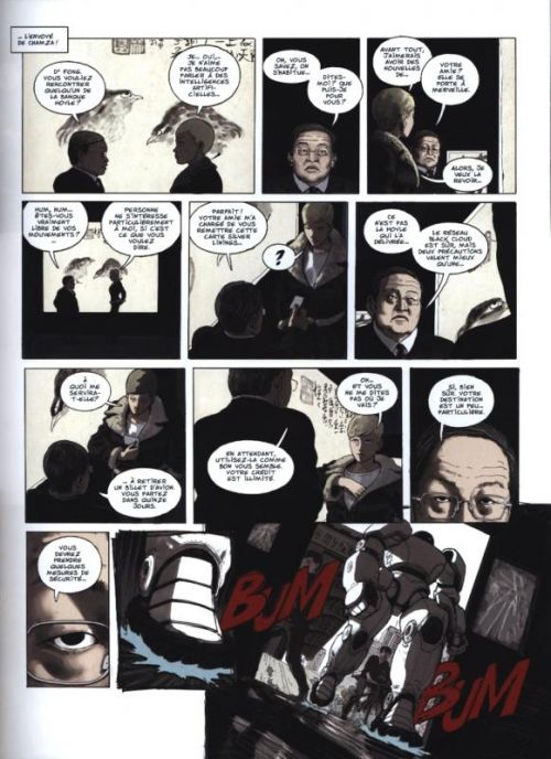 Ghost money T5 : Le black cloud (0), bd chez Dargaud de Smolderen, Bertail