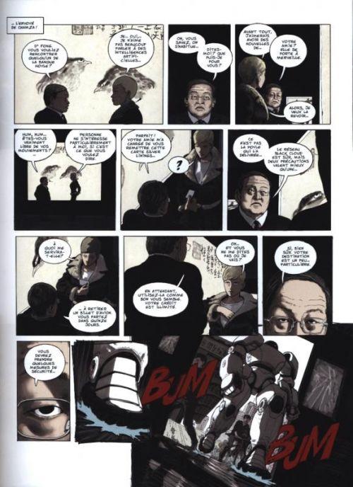 Ghost money T5 : Le black cloud (0), bd chez Dargaud de Smolderen, Bertail