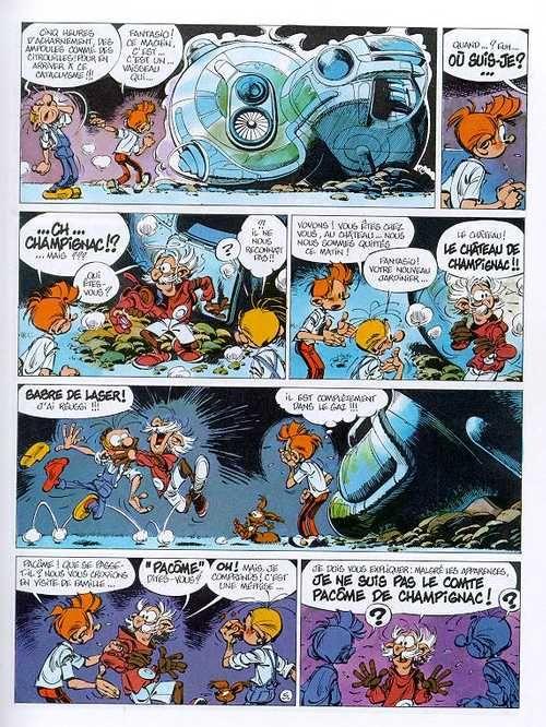 Spirou et Fantasio T36 : L'horloger de la comète (0), bd chez Dupuis de Tome, Janry