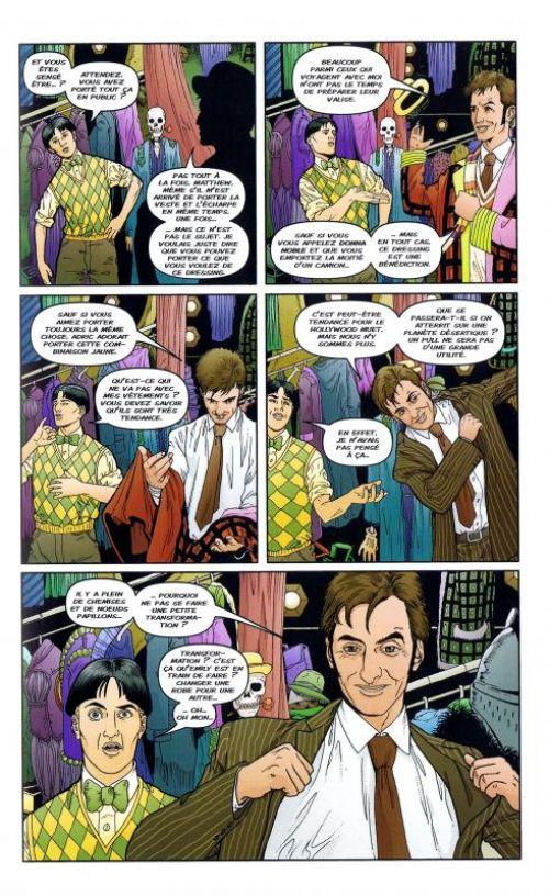 Doctor Who T5 : Tesseract (0), comics chez French Eyes de Lee, Davison, Shedd, Kirchoff, Kindzierski