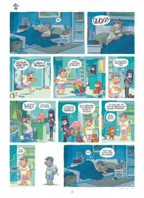 Dad T2 : Secrets de famille (0), bd chez Dupuis de Nob
