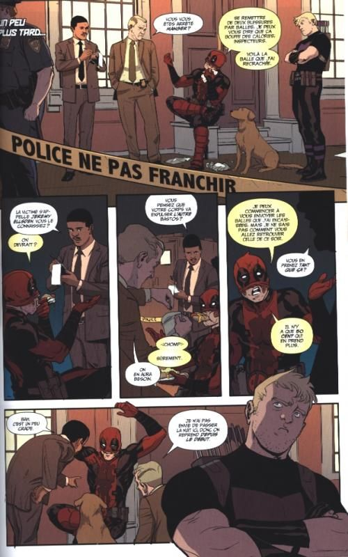 Hawkeye vs Deadpool : Balles masquées (0), comics chez Panini Comics de Duggan, Camagni, Lolli, Filardi, Peter, Harren