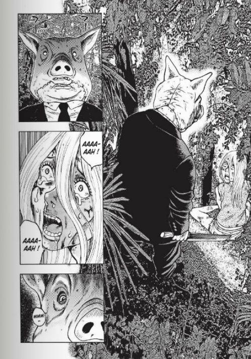 Freak island  T1, manga chez Delcourt de Hokazono