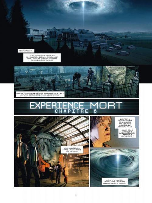 Experience mort T3 : La résurrection de la chair (0), bd chez Ankama de Mangin, Bajram, Ponzio