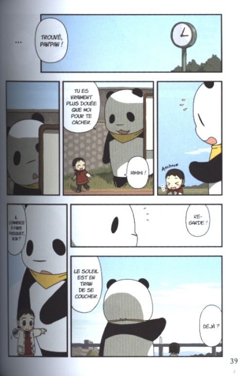 Pan' pan panda T8, manga chez Nobi Nobi! de Horokura