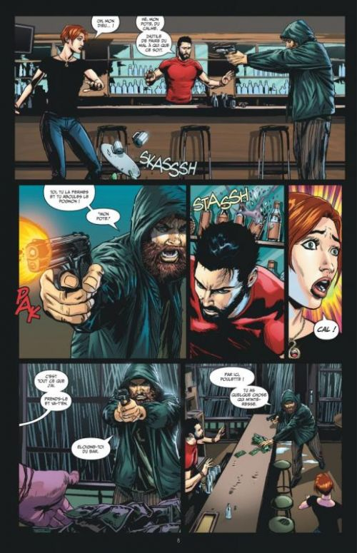 Futures End T2, comics chez Urban Comics de Giffen, Lemire, Azzarello, Jurgens, Hamner, Eaton, Merino, Weeks, Lopresti, Zircher, Jeanty, Miller, McCaig, Sook