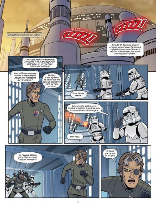 Star Wars Rebels T2, comics chez Delcourt de Fisher, Barlow, Romling, Moleworth, Collectif