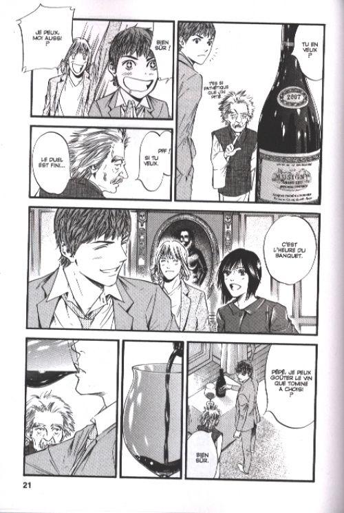 Les gouttes de Dieu T39, manga chez Glénat de Agi, Okimoto
