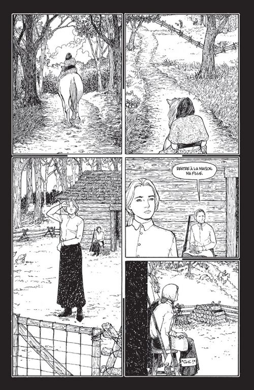 Rachel Rising T4 : Tombes hivernales (0), comics chez Delcourt de Moore