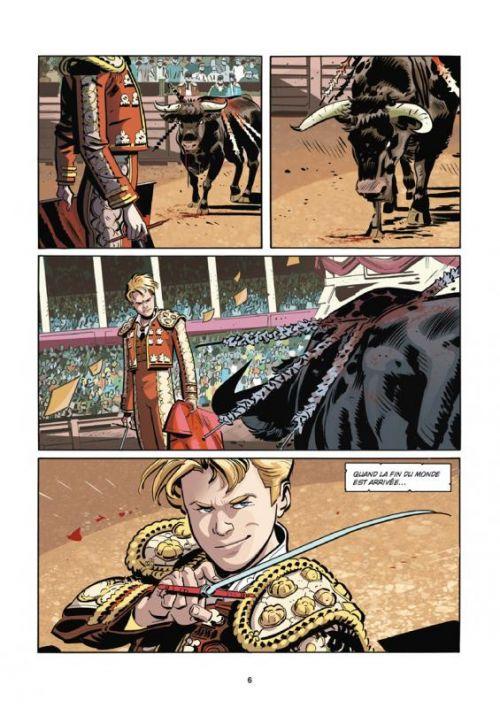 Orphelins T2 : Les esprits de l'ombre (0), comics chez Glénat de Recchioni, Cavenago, Bignamini, Florean, De Felici, Carnevale