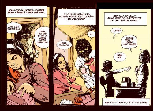 L'écume des ours, comics chez Mega Low Comix de Jim Dandy