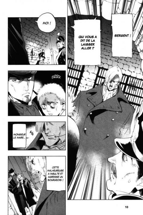 Les Misérables T3, manga chez Kurokawa de Hugo, Arai