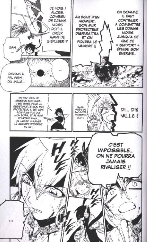 Magi, the labyrinth of magic  T20, manga chez Kurokawa de Ohtaka