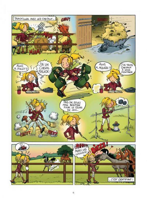 Lilou et Filou T2 : Que du bonheur ! (0), bd chez Glénat de Ruelle
