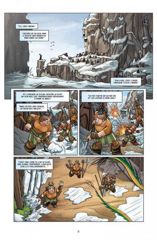 Dragons T3 : Le Château de glace (0), comics chez Soleil de Collectif
