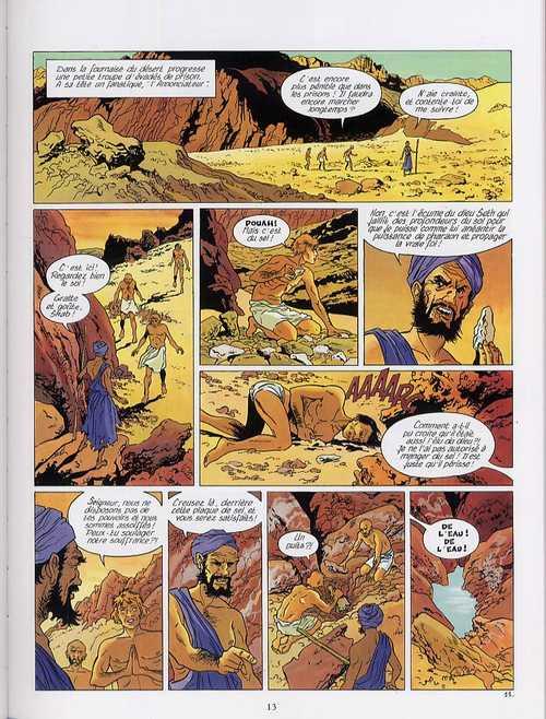 Les mystères d'Osiris T1 : L'arbre de vie (0), bd chez Glénat de Charles, Charles, Roels