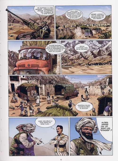 SAS T2 : Le sabre de Bin-Laden (0), bd chez Glénat de Eden, César, Malisan