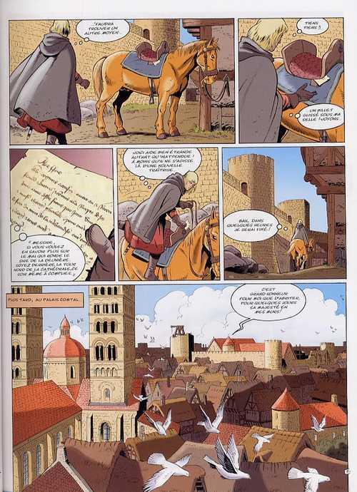 Les aigles décapitées T19 : Le jugement du roi (0), bd chez Glénat de Pierret