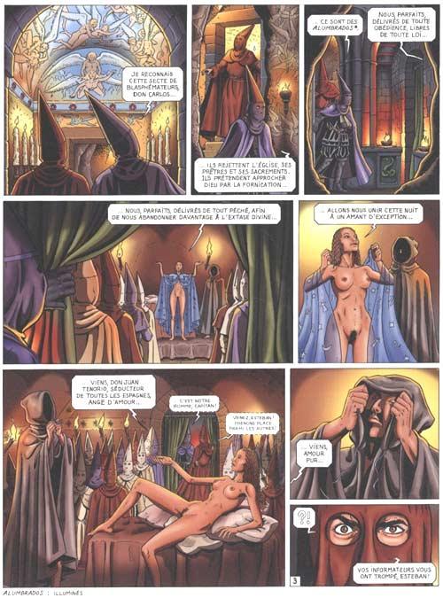 Les trois imposteurs T2 : Les voies de l'hérésie (0), bd chez Glénat de Lemoine, Woehrel, Vulmac