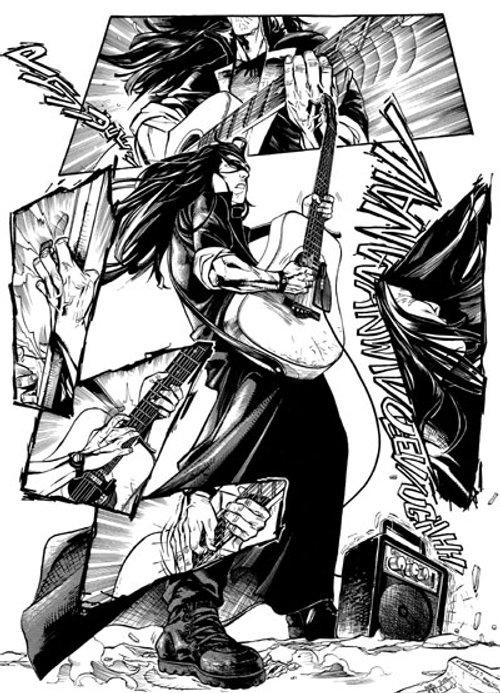 Mélodie d'enfer T1 : Le Guitar-Leader (0), manga chez Xiao Pan de Lu