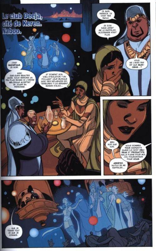 Princesse Leia : L'héritage d'Aldorande (0), comics chez Panini Comics de Waid, Dodson, Bellaire