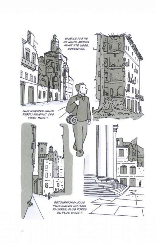 Une Etoile tranquille : Portrait sentimental de Primo Levi (0), bd chez Rackham de Scarnera