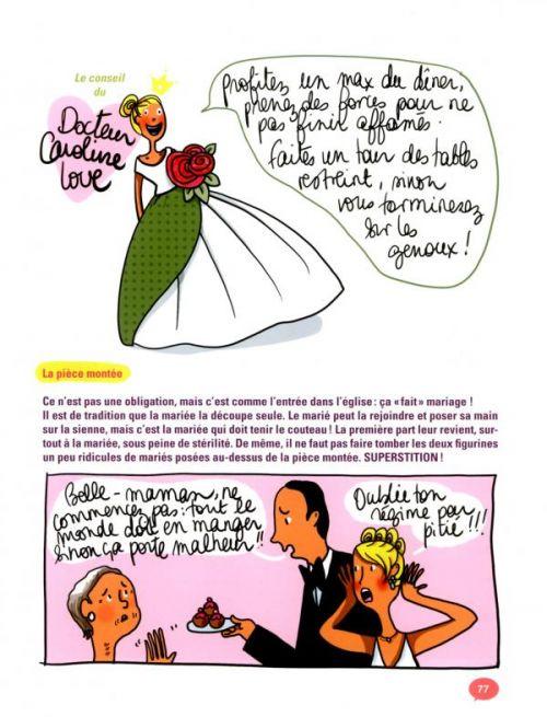 ... pour les nuls : Le mariage (0), bd chez Delcourt de Mademoiselle Caroline