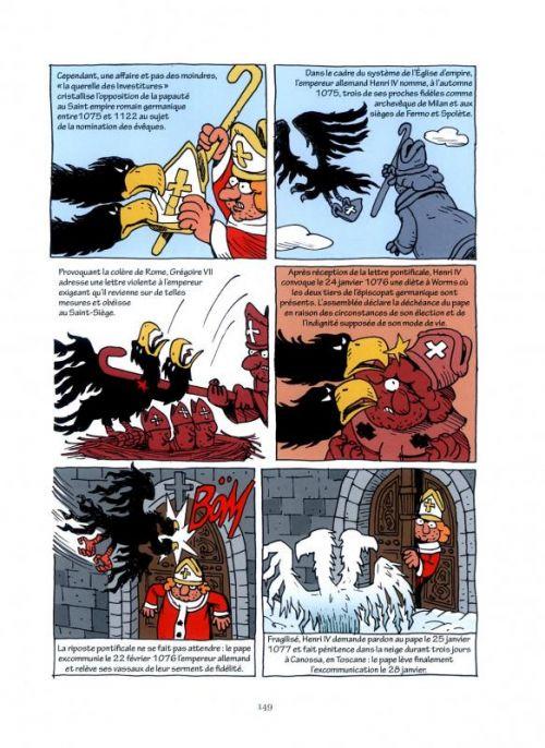 L'Empire : Une histoire politique du christianisme (0), bd chez Les arènes de Bobineau, Magnat