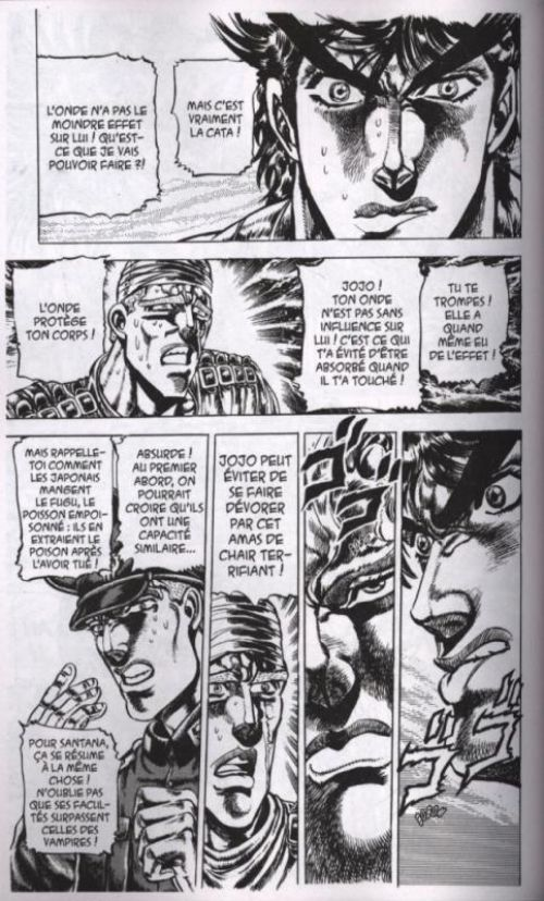 Jojo's Bizarre Adventure - Battle Tendency T2, manga chez Tonkam de Araki