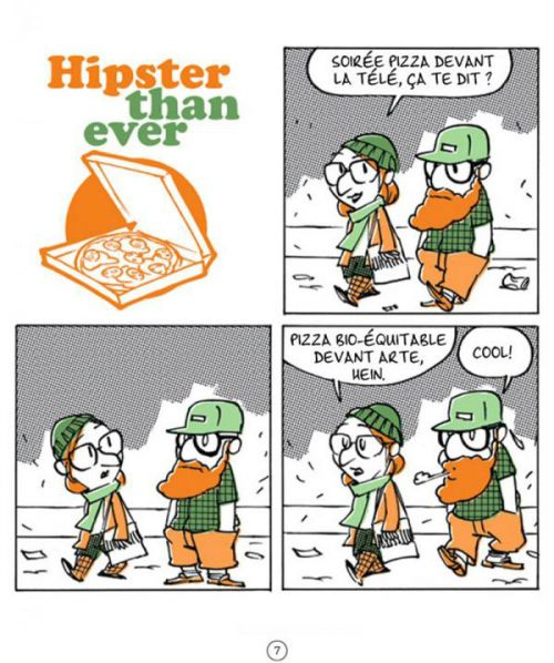 Hipster than ever, bd chez Jungle de James