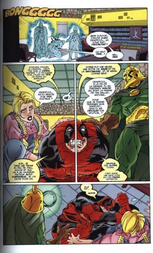 Deadpool (vol.3) T4 : Protocole Mithras (0), comics chez Panini Comics de Kelly, Felder, Teran, Powers, Woods, Cooper, McDaniel, Smith, Brewer, Greene, Ramos Jr, Blanchard, Somers